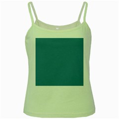 Trendy Basics   Trend Color Niagara Green Spaghetti Tank by tarastyle