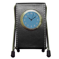 Trendy Basics   Trend Color Niagara Pen Holder Desk Clocks by tarastyle