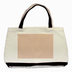 Trendy Basics   Trend Color Pale Dogwood Basic Tote Bag (two Sides) by tarastyle