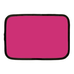 Trendy Basics   Trend Color Pink Yarrow Netbook Case (medium)  by tarastyle