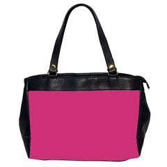 Trendy Basics   Trend Color Pink Yarrow Office Handbags (2 Sides)  by tarastyle