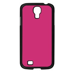 Trendy Basics   Trend Color Pink Yarrow Samsung Galaxy S4 I9500/ I9505 Case (black) by tarastyle