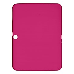 Trendy Basics   Trend Color Pink Yarrow Samsung Galaxy Tab 3 (10 1 ) P5200 Hardshell Case  by tarastyle