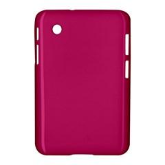 Trendy Basics   Trend Color Pink Yarrow Samsung Galaxy Tab 2 (7 ) P3100 Hardshell Case  by tarastyle