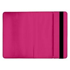 Trendy Basics   Trend Color Pink Yarrow Samsung Galaxy Tab Pro 12 2  Flip Case by tarastyle