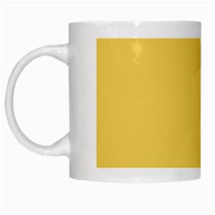 Trendy Basics   Trend Color Primerose Yellow White Mugs by tarastyle