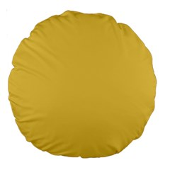 Trendy Basics   Trend Color Primerose Yellow Large 18  Premium Round Cushions by tarastyle