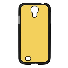 Trendy Basics   Trend Color Primerose Yellow Samsung Galaxy S4 I9500/ I9505 Case (black) by tarastyle