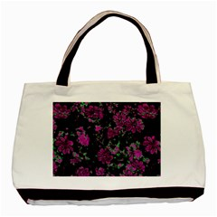 Floral Dreams 12 A Basic Tote Bag by MoreColorsinLife