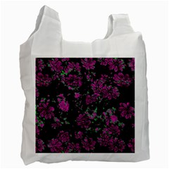 Floral Dreams 12 A Recycle Bag (two Side)  by MoreColorsinLife