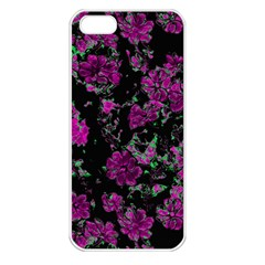 Floral Dreams 12 A Apple Iphone 5 Seamless Case (white) by MoreColorsinLife