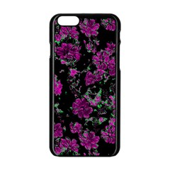 Floral Dreams 12 A Apple Iphone 6/6s Black Enamel Case by MoreColorsinLife