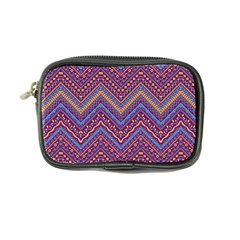 Colorful Ethnic Background With Zig Zag Pattern Design Coin Purse by TastefulDesigns