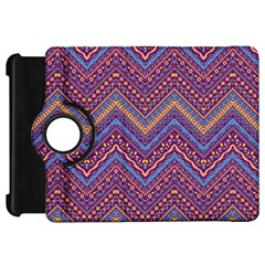 Colorful Ethnic Background With Zig Zag Pattern Design Kindle Fire Hd 7  by TastefulDesigns