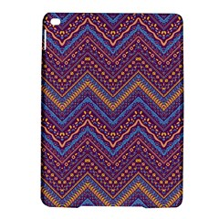 Colorful Ethnic Background With Zig Zag Pattern Design Ipad Air 2 Hardshell Cases by TastefulDesigns