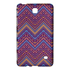 Colorful Ethnic Background With Zig Zag Pattern Design Samsung Galaxy Tab 4 (7 ) Hardshell Case  by TastefulDesigns
