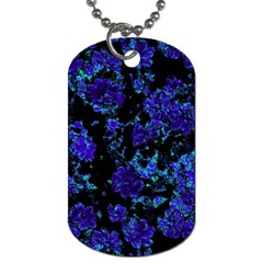Floral Dreams 12 B Dog Tag (two Sides) by MoreColorsinLife