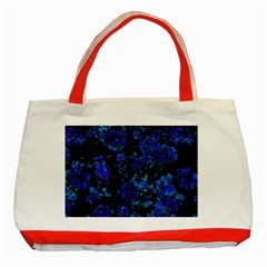 Floral Dreams 12 B Classic Tote Bag (red) by MoreColorsinLife