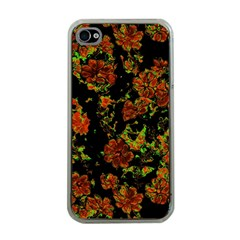 Floral Dreams 12 C Apple Iphone 4 Case (clear)