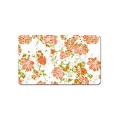 Floral Dreams 12 D Magnet (Name Card)