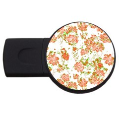 Floral Dreams 12 D USB Flash Drive Round (4 GB)