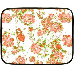 Floral Dreams 12 D Fleece Blanket (Mini)