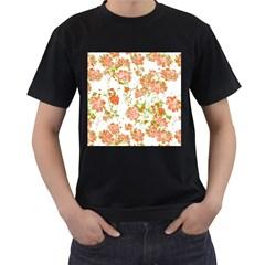 Floral Dreams 12 D Men s T-Shirt (Black)