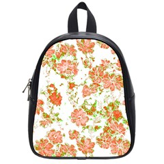 Floral Dreams 12 D School Bags (Small)