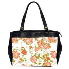 Floral Dreams 12 D Office Handbags (2 Sides)