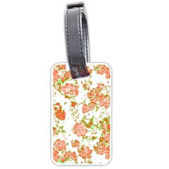 Floral Dreams 12 D Luggage Tags (Two Sides)