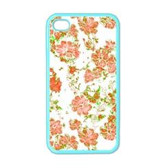 Floral Dreams 12 D Apple Iphone 4 Case (color) by MoreColorsinLife