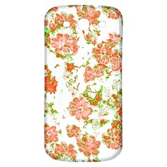Floral Dreams 12 D Samsung Galaxy S3 S Iii Classic Hardshell Back Case by MoreColorsinLife