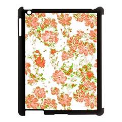 Floral Dreams 12 D Apple iPad 3/4 Case (Black)