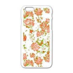 Floral Dreams 12 D Apple iPhone 6/6S White Enamel Case