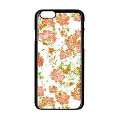 Floral Dreams 12 D Apple Iphone 6/6s Black Enamel Case by MoreColorsinLife