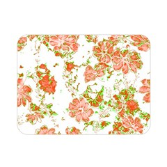 Floral Dreams 12 D Double Sided Flano Blanket (Mini)