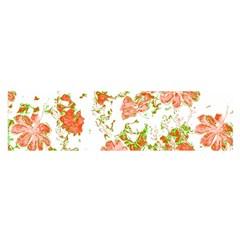 Floral Dreams 12 D Satin Scarf (Oblong)