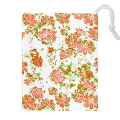 Floral Dreams 12 D Drawstring Pouches (XXL)