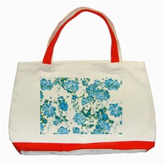 Floral Dreams 12 E Classic Tote Bag (red) by MoreColorsinLife