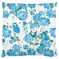 Floral Dreams 12 E Large Cushion Case (two Sides) by MoreColorsinLife