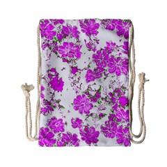 Floral Dreams 12 F Drawstring Bag (small) by MoreColorsinLife