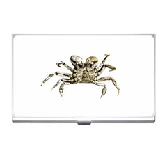 Dark Crab Photo Business Card Holders by dflcprints