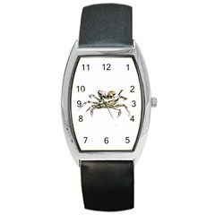 Dark Crab Photo Barrel Style Metal Watch by dflcprints