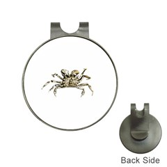 Dark Crab Photo Hat Clips With Golf Markers by dflcprints