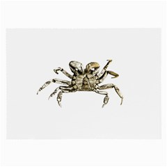 Dark Crab Photo Large Glasses Cloth (2 Side) by dflcprints