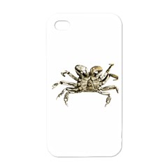 Dark Crab Photo Apple Iphone 4 Case (white) by dflcprints