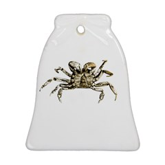 Dark Crab Photo Bell Ornament (two Sides) by dflcprints