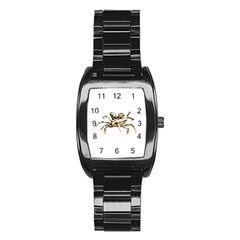 Dark Crab Photo Stainless Steel Barrel Watch by dflcprints
