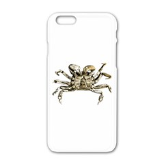 Dark Crab Photo Apple Iphone 6/6s White Enamel Case by dflcprints