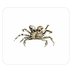 Dark Crab Photo Double Sided Flano Blanket (small)